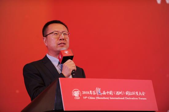 大连商品交易所总经理王凤海先生致辞