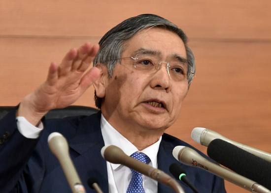 日央行将继续强宽松政策 以实现设定的2%的通胀目标