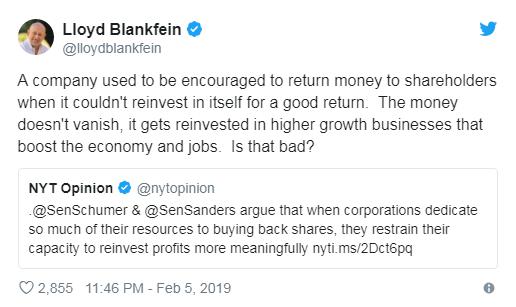 资深对冲基金经理尤斯科:回购股票应该是非法