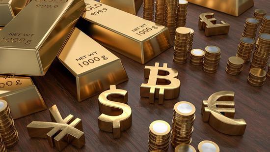 黄金期货收跌1.3% 跌破1300美元国际外盘期货