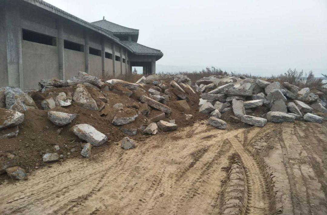 陕西渭南违规开发旅游项目 湿地保护区生态破坏严重