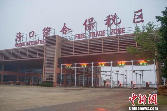 海南省今年上半年跨境电商贸易额