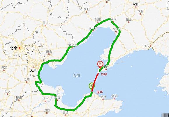 东京少女真野惠里�_渤海湾跨海通道规划已报批,建成后烟台到大连仅需一