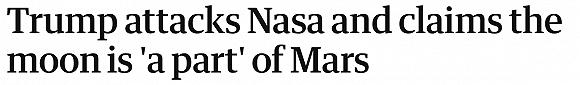 【天下头条】就业低迷引发降息料到美股再收高 特朗普打击NASA称月球属于火星