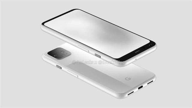 谷歌Pixel 4渲染图曝光:或支持Face ID面部识别
