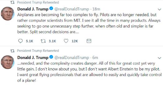 """特朗普""""大义灭亲""""停飞波音737 MAX 8,埃航坠机黑匣子将在德国作分析"""