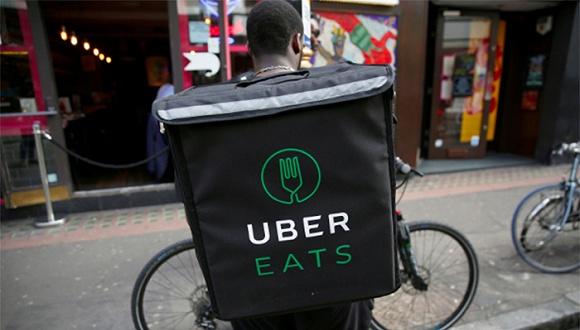 """在家里做什么手工活比较赚钱Uber Eats送餐员伦敦拦路罢工, 抗议""""赚钱太少"""""""