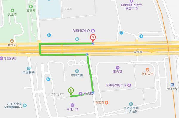 图片说明:中坤广场和方恒时尚中心分别位于三环南北面,步行距离10分钟