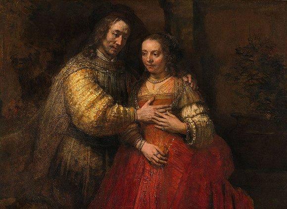 【伦勃朗逝世350年】伦勃朗与萨斯基亚的爱情故事