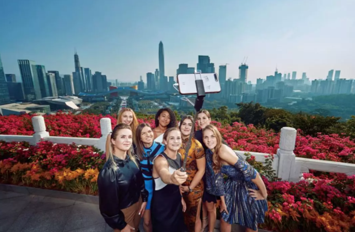 深圳WTA年终总决赛惊艳开局