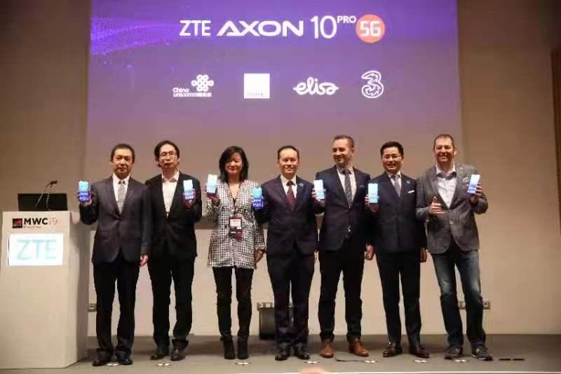 """全球首批5G网络商用落地 中兴""""抢鲜""""发布首款5G手"""