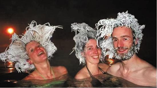 """加拿大人的""""冷冻头发大赛"""""""