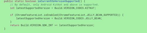 谷歌调整Chrome支持下