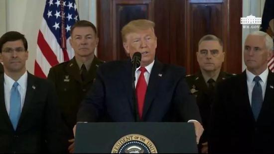 白宫直播截图