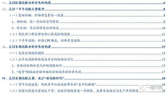 缩or胀?美国通胀长短期双框架的找寻与展望+中国炒外汇