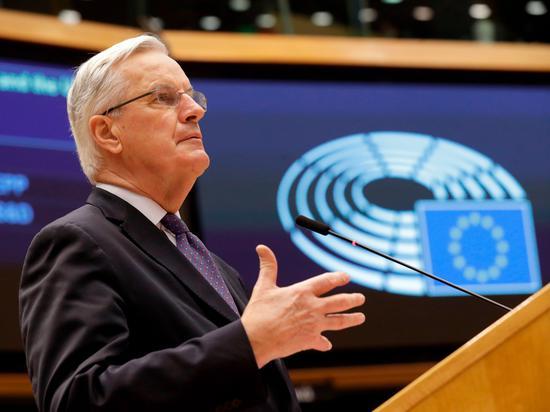 英国脱欧贸易协议框架已经达成 正研究敲定协议措辞_ 外汇市场