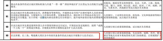 商务部:在京津冀、长三角等具备条件试点地区开展数字人民币试点|奥弗国际