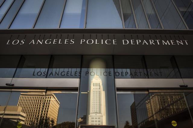 △图为洛杉矶警察局 图片来源于网络