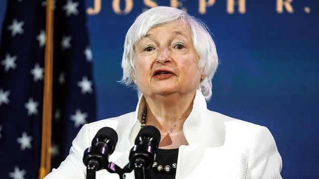 耶伦:美通胀走高将持续数月!长期仍将回归2%