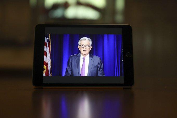 美联储主席鲍威尔:尚未决定发行数字货币,外汇交易 合法 保证金 汇丰