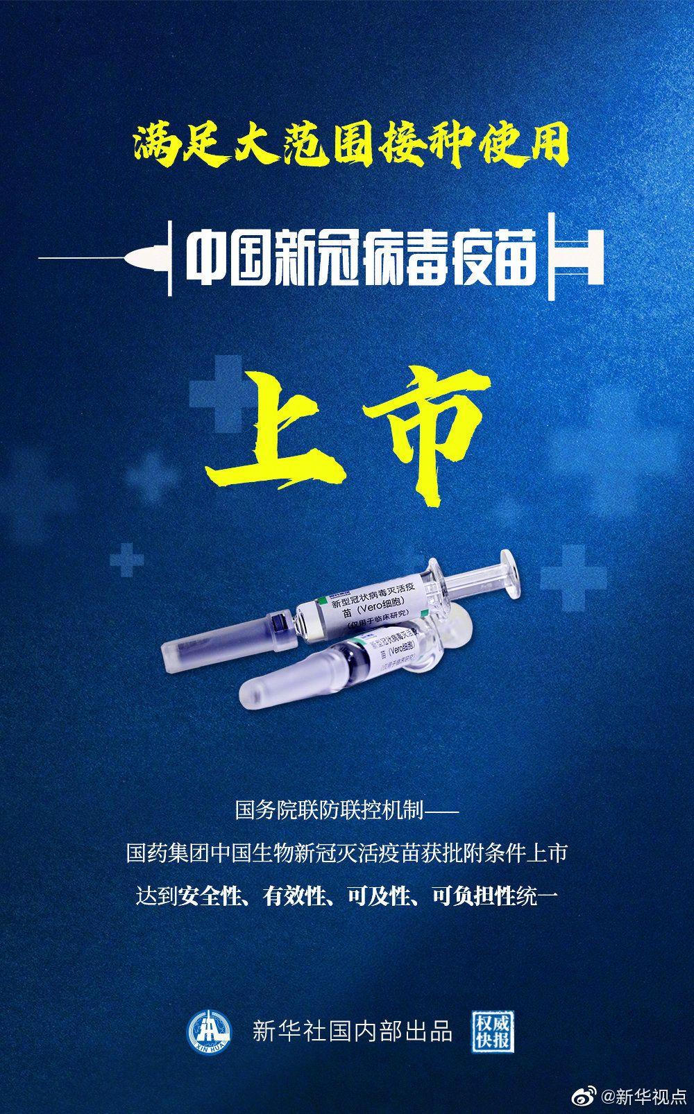 中国新冠病毒疫苗上市 为全球战胜疫情注入信心,外汇网站