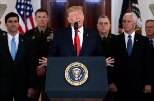 特朗普:伊朗袭击没造成美军伤亡 我们提前有准备+icmarkets