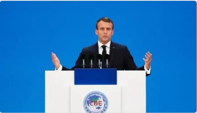 △图为法国总统马克龙 来源:中新网