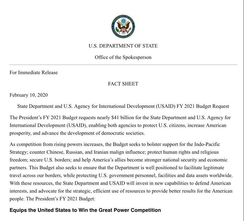 美国总统特朗普政府公布新预算 削减公共开支引争议|道氏理论