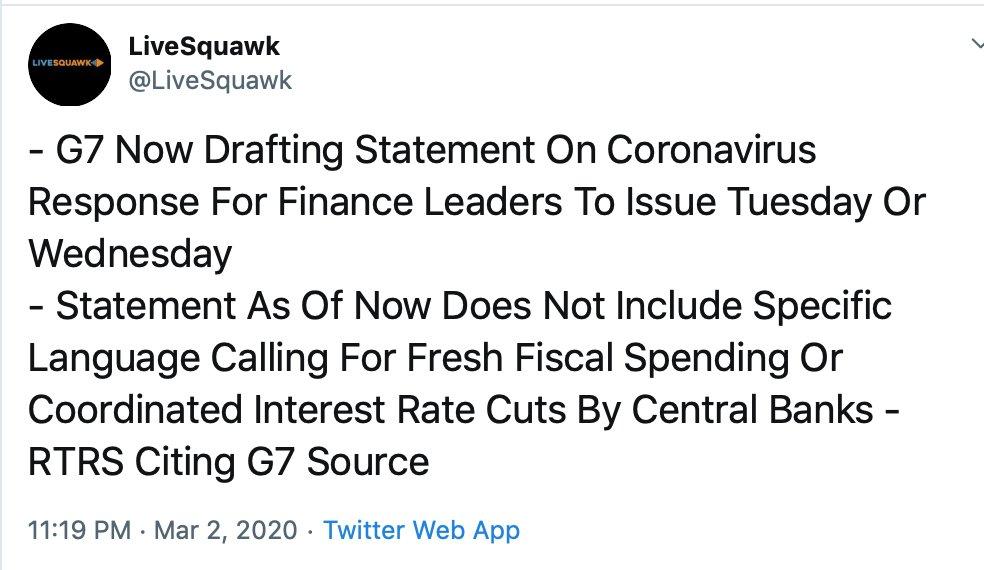 小心形势有变 万众期待的G7声明可能出乎意料|外汇交易战法