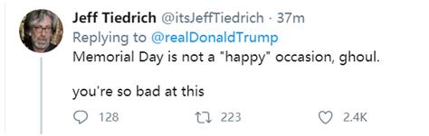 特朗普连打两天高尔夫后又发推:阵亡将士纪念日快乐 什么是b股