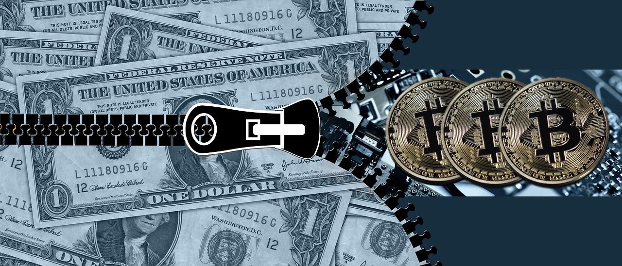 洛杉矶抗议者号召用比特币取代