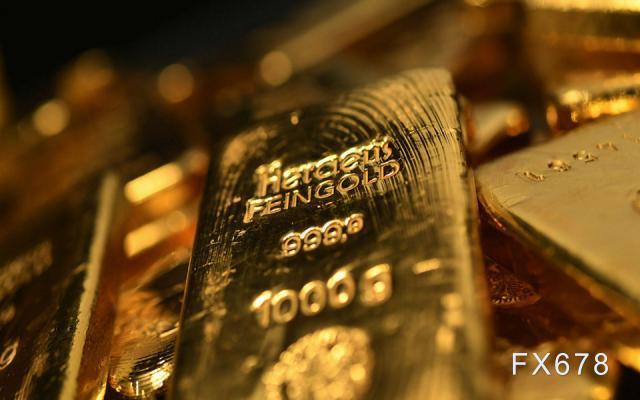 现货黄金反弹受限 美债收益率创十个月新高+万致外汇