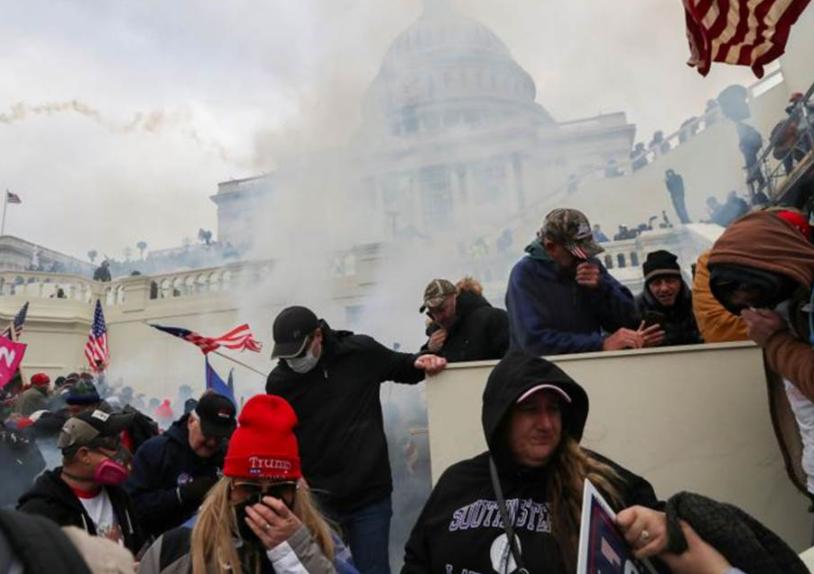 特朗普支持者围攻国会大楼 拜登:近乎煽动叛乱!+外汇110官网