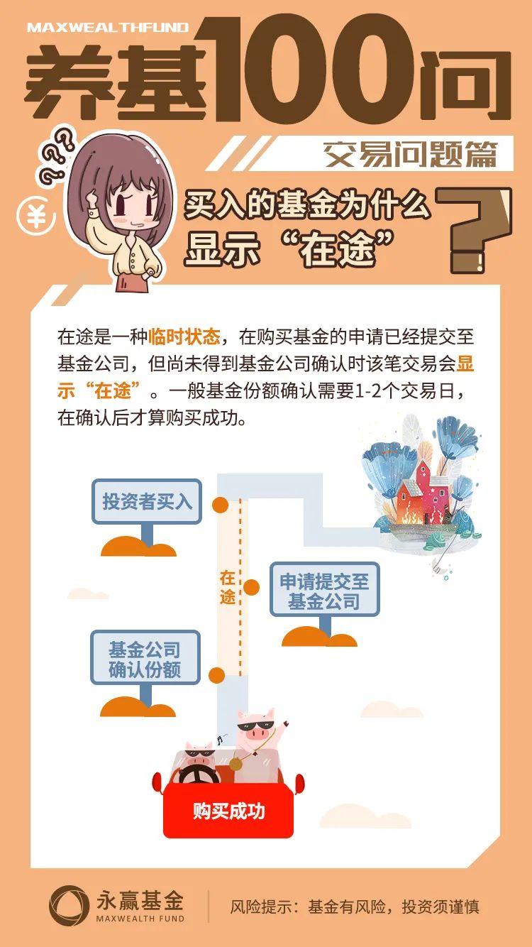 """【养基100问】买入的基金为什么显示""""在途""""?"""