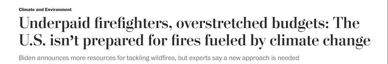 """山火肆虐!这场""""美国高烧""""何年能退?"""