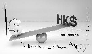 """两大因素推""""强""""港元汇率 香港金管局六度出手干预_台币与人民币汇率"""