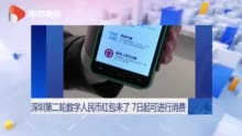 深圳第二轮数字人民币红包来了 7日起可进行消费+外汇交易平台