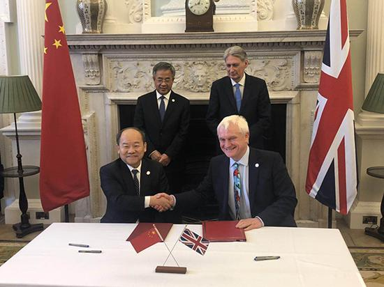 发改委与英国际贸易部签署开展第