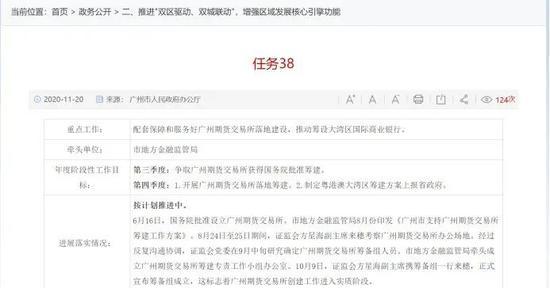 关于广州期货交易所 又有新消息!