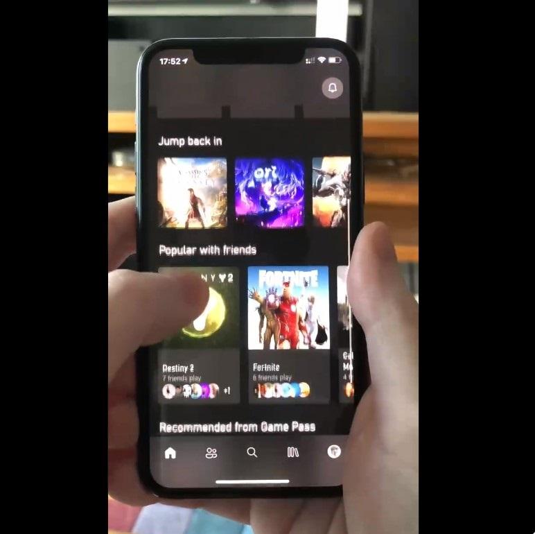 微软最新Xbox应用已支持将Xbox One游戏串流到iPhone/iPad