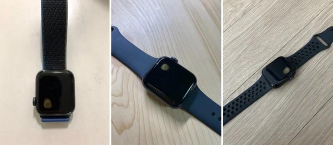 用户反映Apple Watch SE出现过热问题,手表右上角出现黄色斑点