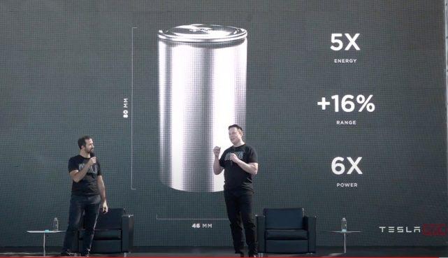 特斯拉将推新型电池:能量密度提升5倍,续航里程提高16%