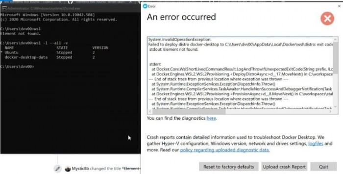 """微软重发KB4577063:修复WSL""""元素未找到""""错误"""