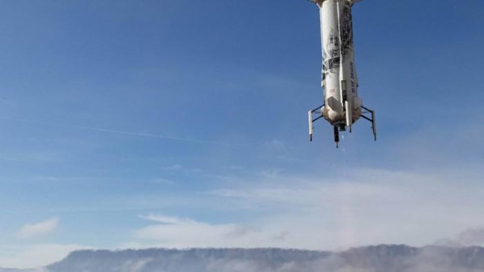 蓝色起源宣布其周四的New Shepard NS-13发射任务被取消