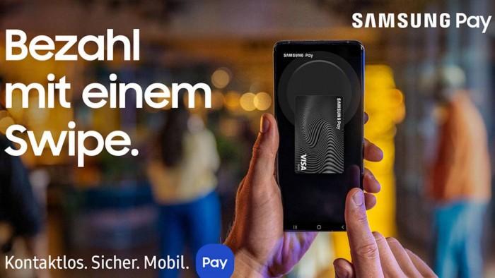 Samsung Pay在德国推出独特功能:可链接到该国任意银行账户