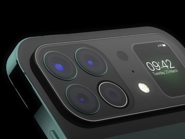 iPhone 13 Pro外观曝光:背部竟有块屏幕