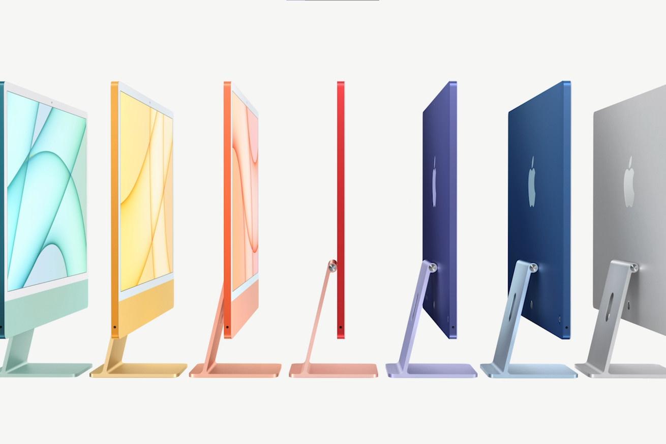 曝苹果MacBook Air 2021将采用类似新iMac的七彩色,