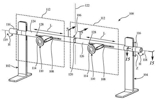 疑似苹果Pro Display XDR双显示器支架设计专利曝光