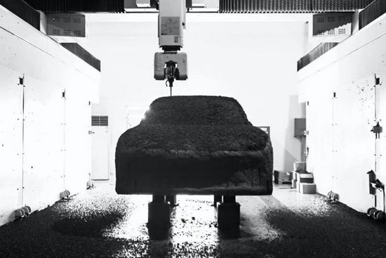 集度首款車油泥模型,圖源集度汽車官微