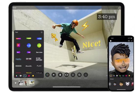 苹果的Clips应用终于支持播放垂直视频